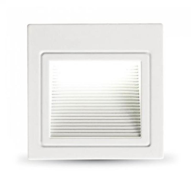 Corp de iluminat LED, 3 W, 4000 K, lumina alb neutru, montaj scara/perete shopu.ro