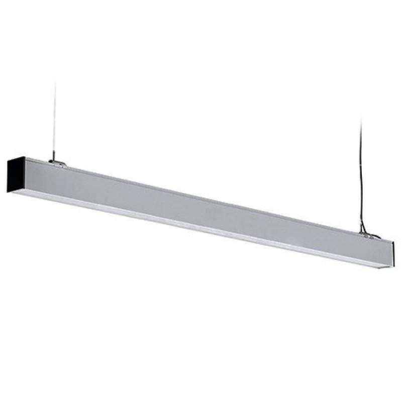 Corp de iluminat LED V-Tac, 40 W, 4000 K, 3400 lumeni, IP20, aluminiu, cip samsung, Argintiu shopu.ro