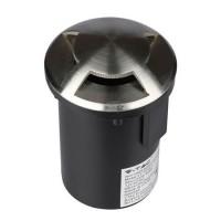 Corp Iluminat LED V-Tac, 35 W, IP67, 3 fante, 87 x 128 mm, forma rotunda, model ingropat, inox
