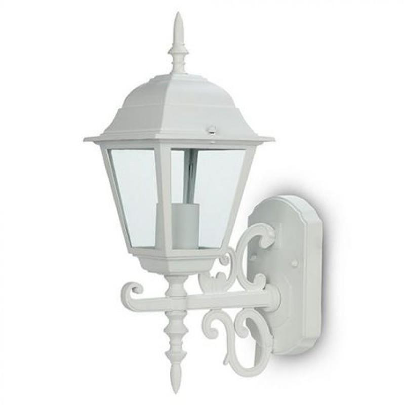 Corp de iluminat, 60 W, E27, 400 x 148 mm, aluminiu, Alb 2021 shopu.ro