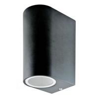 Aplica perete, soclu 2 x GU10, negru