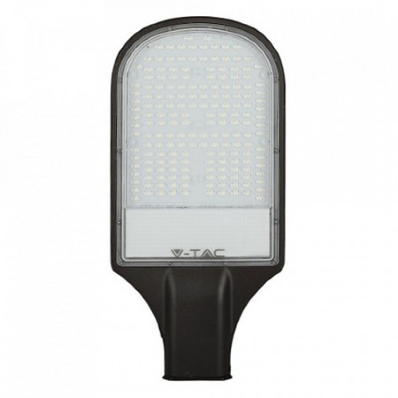 Corp iluminat Stradal V-Tac, 100 W, 6400 K, 10000 lumeni, cip samsung, IP65, aluminiu, Negru shopu.ro