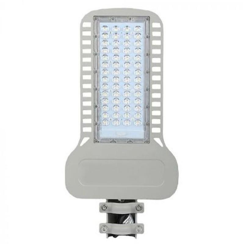 Corp iluminat stradal Slim LED, 100 W, 12000 lm, 4000 K, aluminiu, lumina alb neutru, Gri shopu.ro