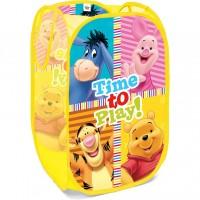 Cos depozitare jucarii Winnie the Pooh Seven, pliabil, 36 x 36 x 58 cm