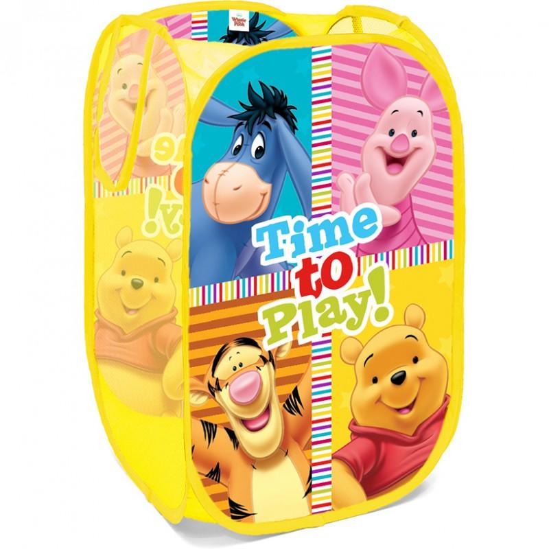 Cos depozitare jucarii Winnie the Pooh Seven, pliabil, 36 x 36 x 58 cm 2021 shopu.ro