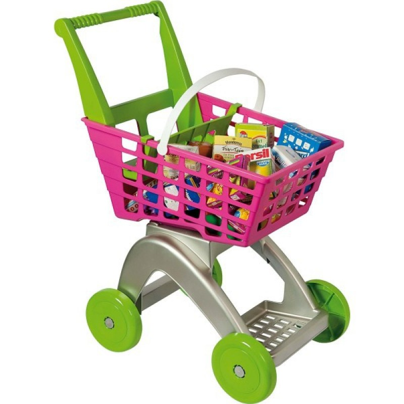 Cos supermarket cu accesorii Androni Giocatolli, multicolor 2021 shopu.ro