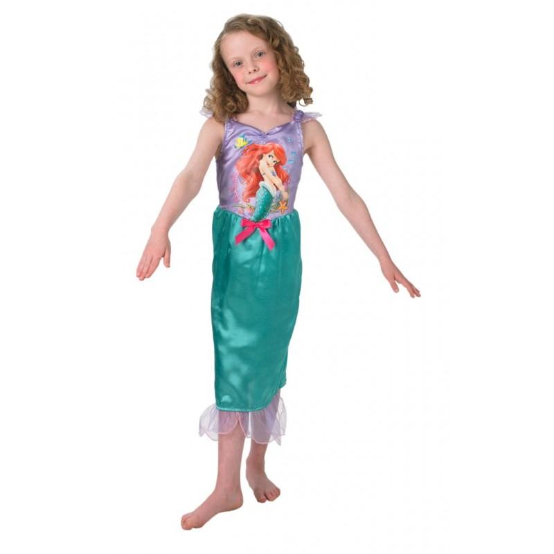 Costum Ariel Storytime, 116 x 53 cm, catifea, marime M, 5-6 ani 2021 shopu.ro