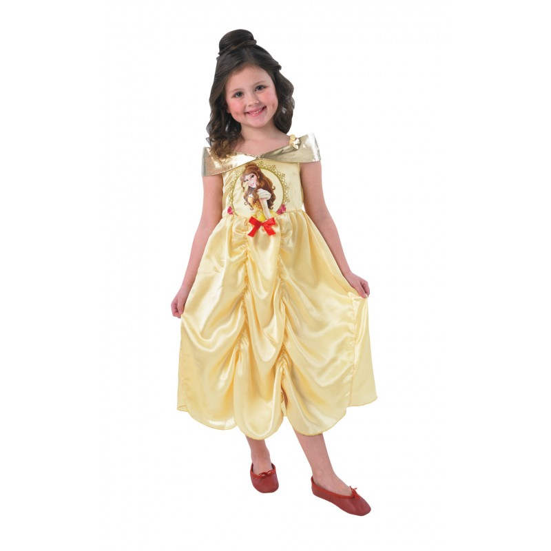 Costum pentru fetite Belle Storytime, varsta 5-6 ani, marime M 2021 shopu.ro