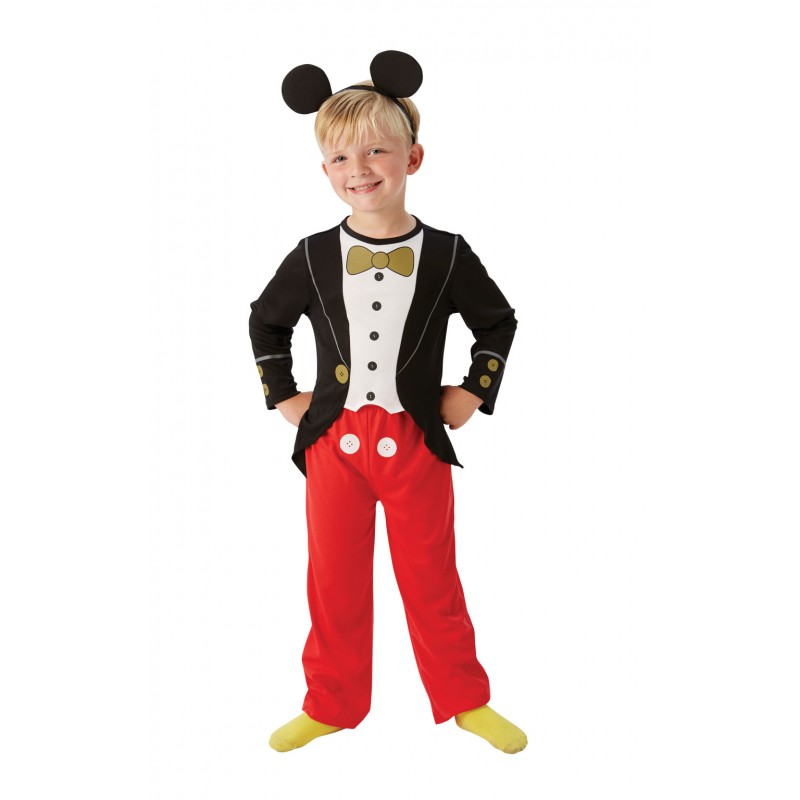 Costum pentru copii Clasic Mickey Mouse, varsta 3-4 ani, marime S 2021 shopu.ro