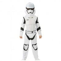 Costum clasic Stormtrooper, marime L, varsta 7-8 ani