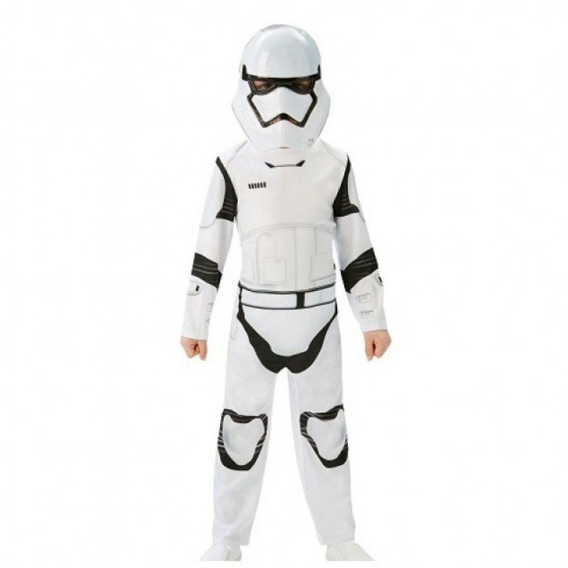 Costum clasic Stormtrooper, marime L, varsta 7-8 ani 2021 shopu.ro