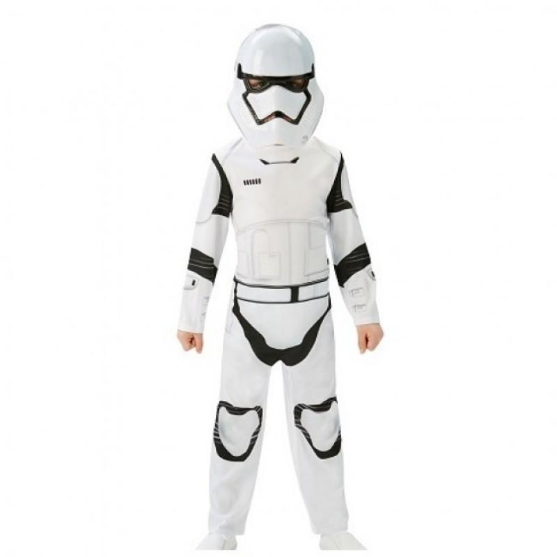 Costum clasic Stormtrooper, marime M, varsta 5-6 ani 2021 shopu.ro