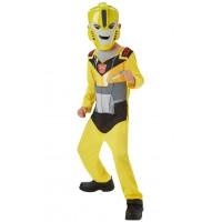 Costum cu masca Bumblebee Transformers, 3 ani+