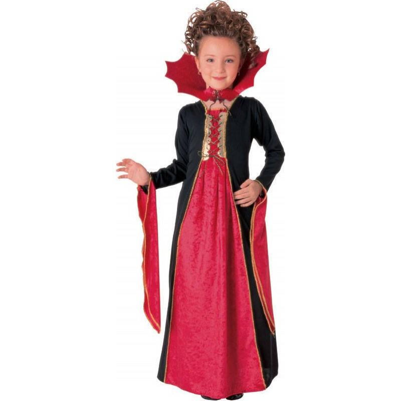 Costum de carnaval pentru copii Vampirita Gotica, 3 ani+