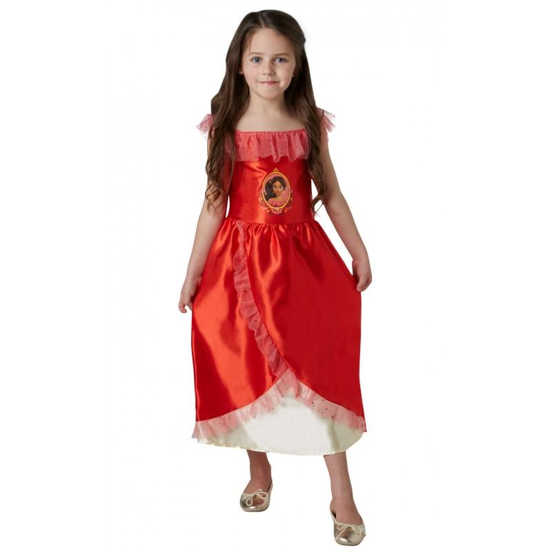 Costum Elena Avalor, varsta 7-8 ani, marime L, Rosu 2021 shopu.ro