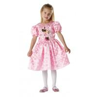 Costum pentru fetite Minnie Mouse, varsta 5-6 ani, marime M, Roz