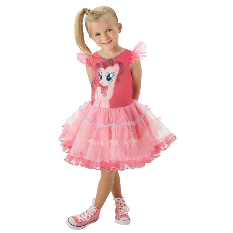 Costum fetita Micul meu Ponei Pinkie Pie, marime S, 3-4 ani 2021 shopu.ro