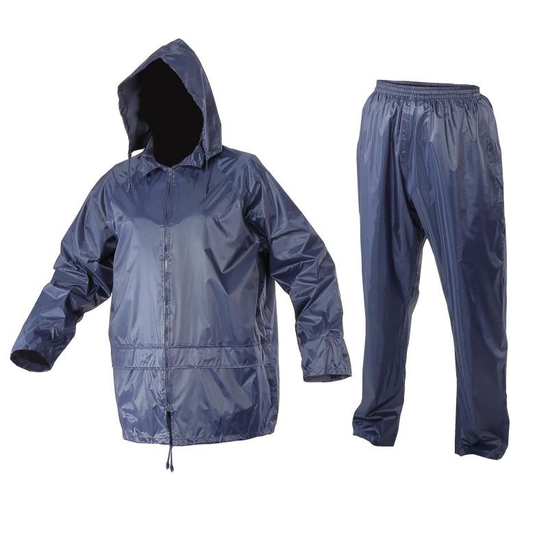 Costum ploaie Lahti Pro, marimea M, albastru 2021 shopu.ro