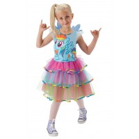 Costum fetita Rainbow Dash, marime S, 3-4 ani