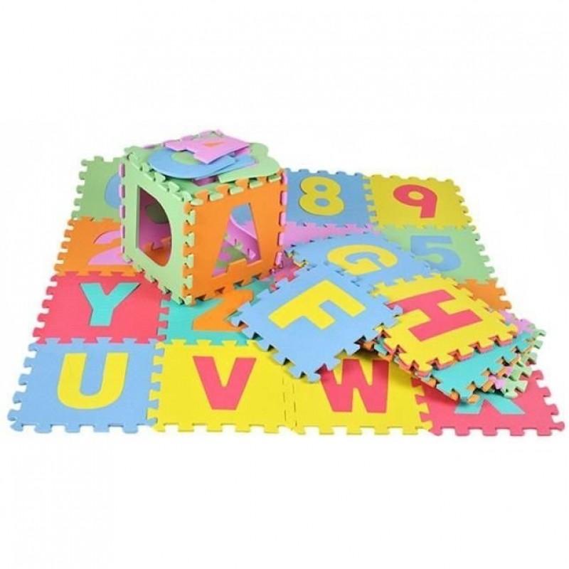 Puzzle de podea Iso Trade, 36 piese 29 x 29 cm, spuma, 3 ani+ 2021 shopu.ro