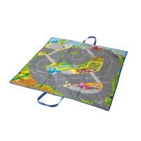 Covoras de joaca Trafic  Miniland, cutie pentru jucarii inclusa, 3 - 6 ani