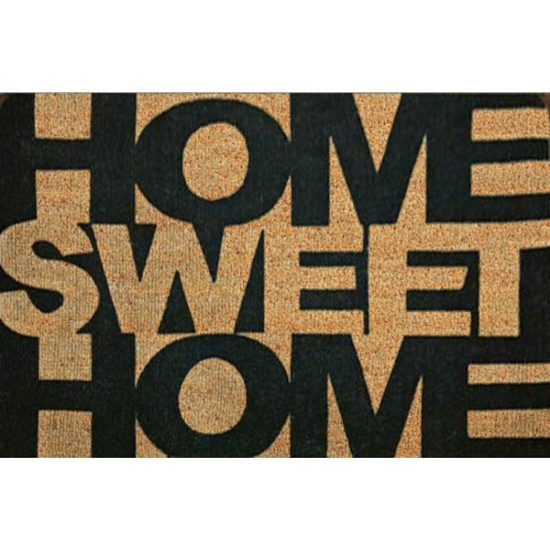 Covoras intrare Heinner, 40 x 60 cm, iarba de mare, model sweet home shopu.ro