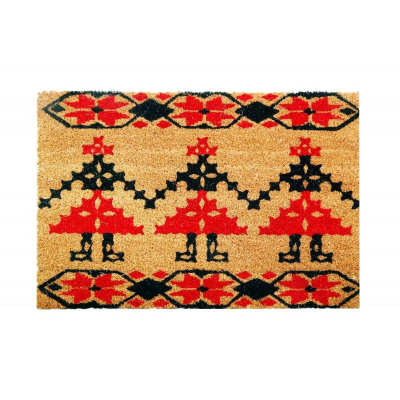 Covoras intrare Heinner, 40 x 60 cm, iarba de mare, model traditional Bucovina shopu.ro