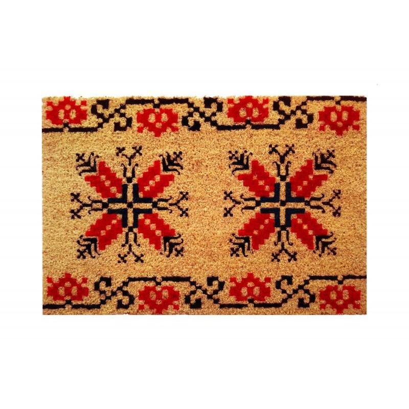 Covoras intrare Heinner, 40 x 60 cm, iarba de mare, model traditional Dobrogea shopu.ro