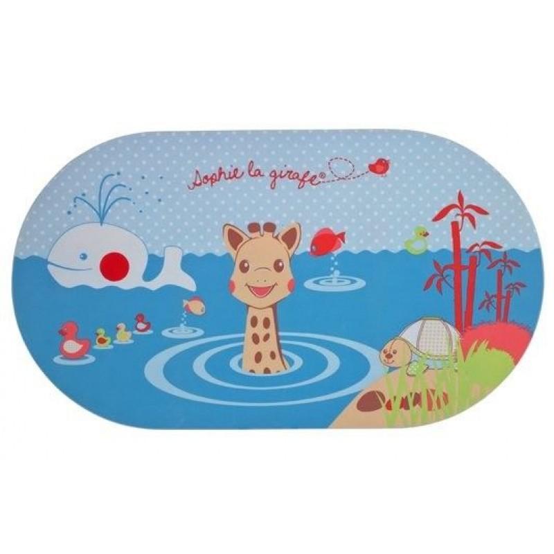 Covoras pentru cada Vulli, indicator de temperatura, 71 x 40 cm, model Girafa Sophie 2021 shopu.ro