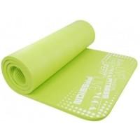 Covoras pentru yoga Exclusive DHS, 100 x 60 x 1 cm, cauciuc, Verde