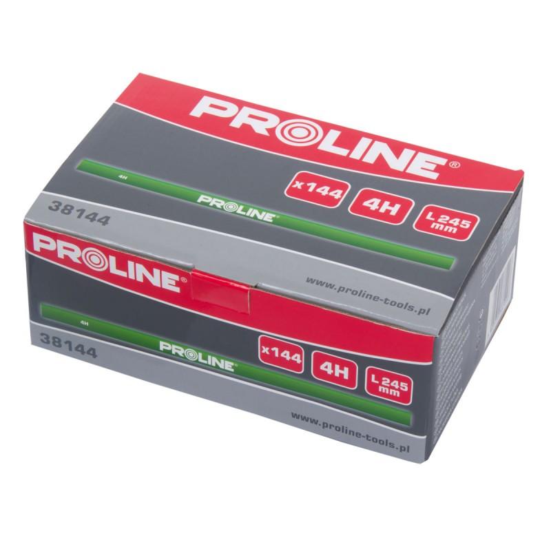 Set 144 creioane pentru tamplarie Proline, 245 mm, tip 4H shopu.ro