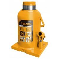 Cric hidraulic Tolsen, tip butelie, maxim 50 tone, uz industrial
