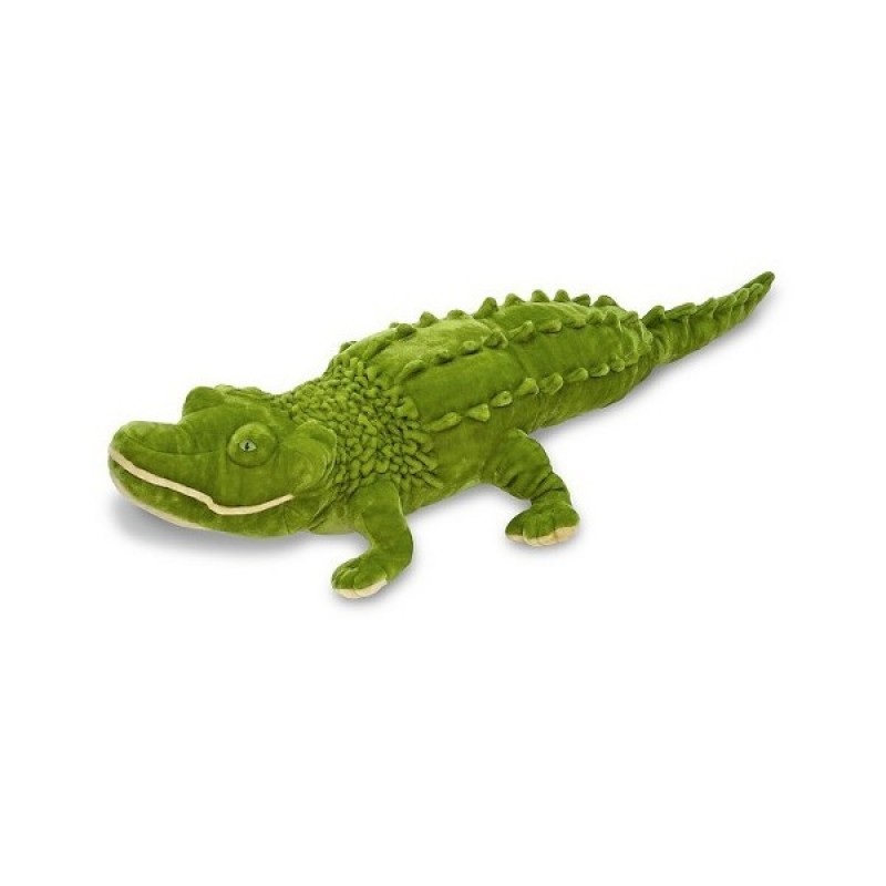 Crocodil gigant din plus Melissa and Doug, 165 x 30 x 46 cm