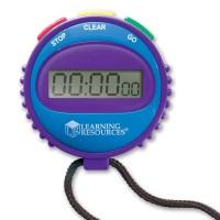 Cronometru pentru copii Learning Resources, 3 butoane, 7 cm, 5 - 12 ani