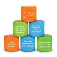Cuburi pentru conversatii Descoperim emotiile Learning Resources, 5 ani+