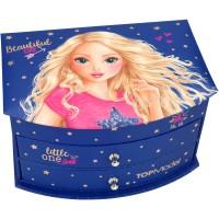 Cutie de Bijuterii Blue Top Model Depesche, Multicolor