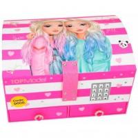 Cutie de Bijuterii mare cu cod Roz Top Model Depesche