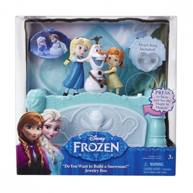 Cutie muzicala de bijuterii Frozen, 3 ani+ 2021 shopu.ro
