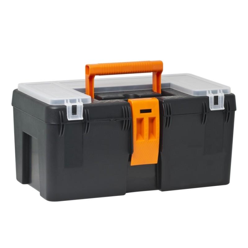 Cutie scule Handy, 400 x 230 x 200 mm, plastic, tava detasabila 2021 shopu.ro