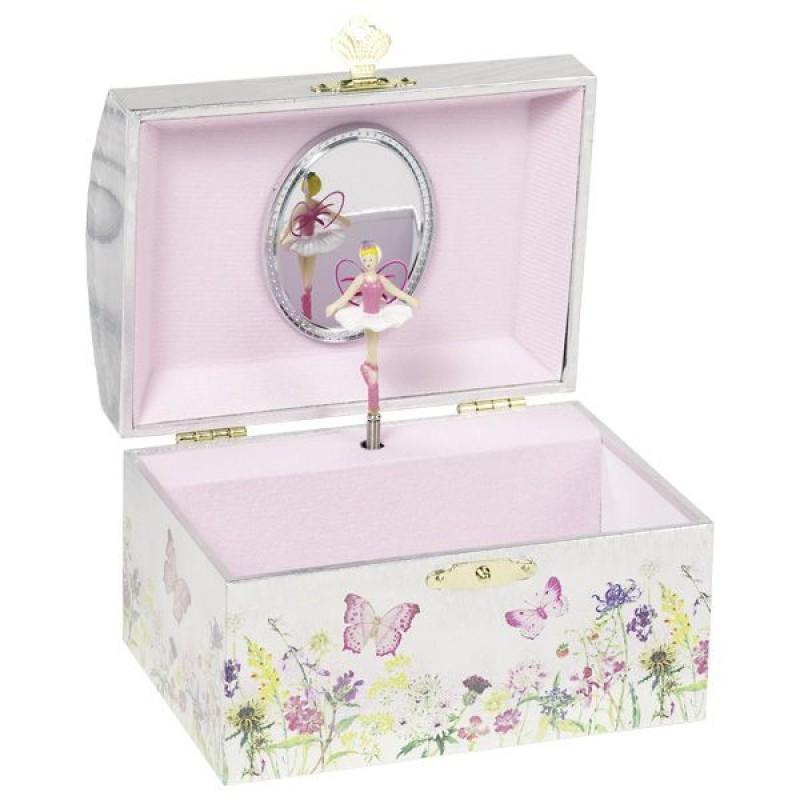 Cutie muzicala de bijuterii Pixie II Goki, 16 x 10.7 x 10.7 cm, 3 ani+ 2021 shopu.ro