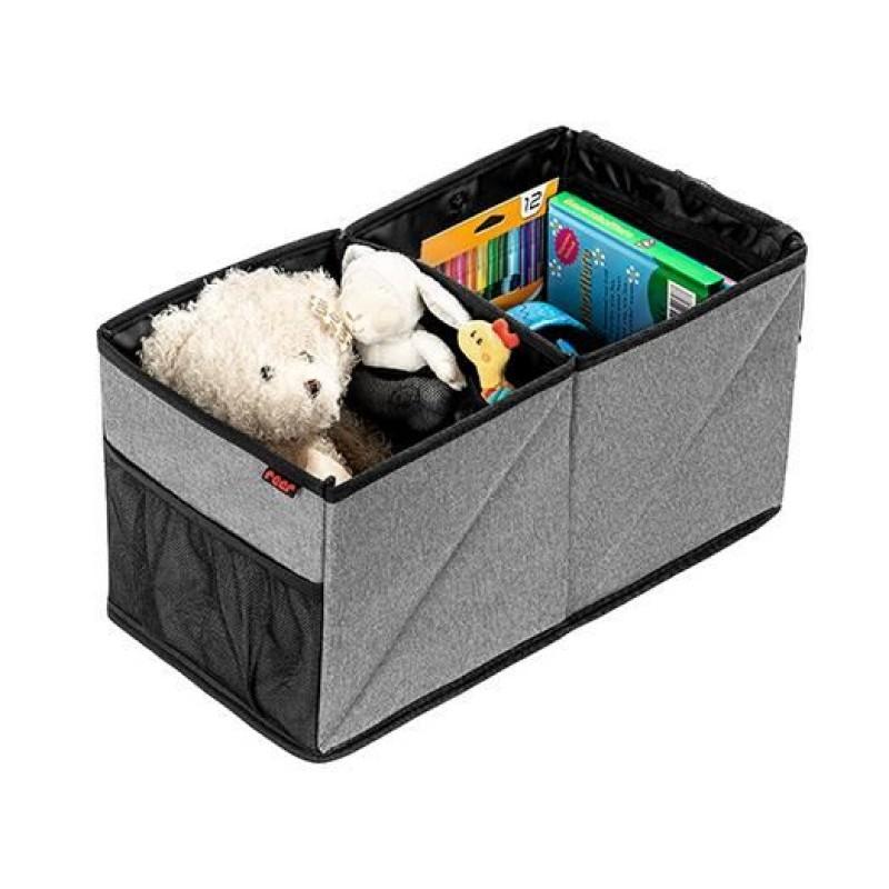 Organizator tip cutie pliabila pentru auto Reer TravelKid Box, 24 x 46 x 24 cm 2021 shopu.ro