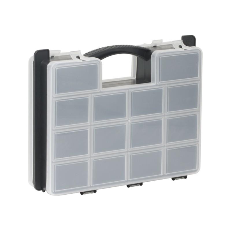 Cutie dubla pentru accesorii Handy, 290 x 230 x 70 mm, plastic 2021 shopu.ro