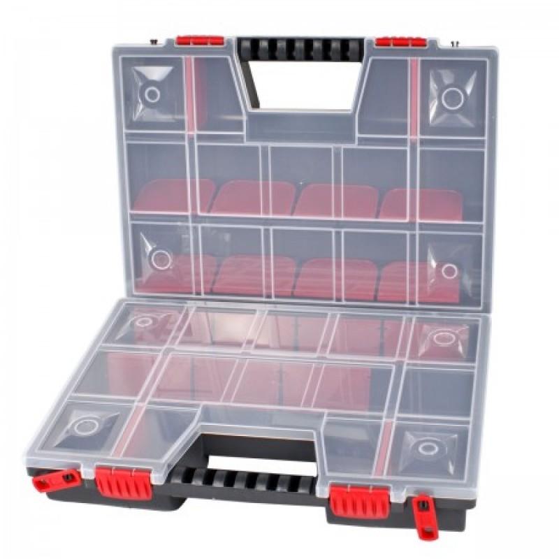 Cutie organizare dubla Proline HD, 130 x 290 x 390 mm, 30 casete