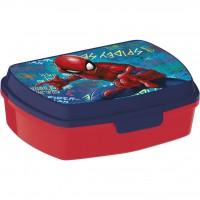 Cutie pentru sandwich Spiderman SunCity, 16.5 x 12.5 x 6 cm