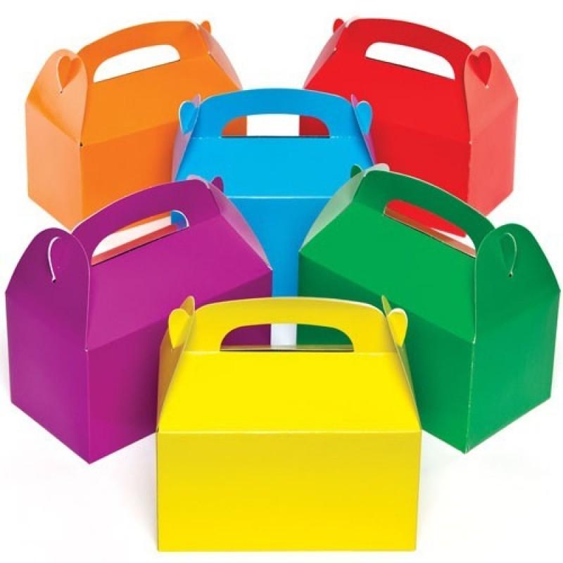 Cutii colorate pentru cadouri Baker Ross, 6 bucati, 3 ani+ 2021 shopu.ro