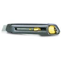 Cutter metalic Stanley, demontabil, autoblocare, 18 mm
