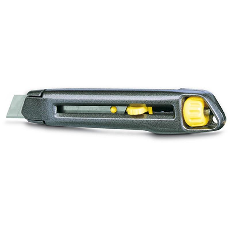 Cutter metalic Stanley, demontabil, autoblocare, 18 mm 2021 shopu.ro