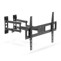 Suport TV pentru perete Delight, 32-70 inch, rabatabil, maxim 35 kg, Negru