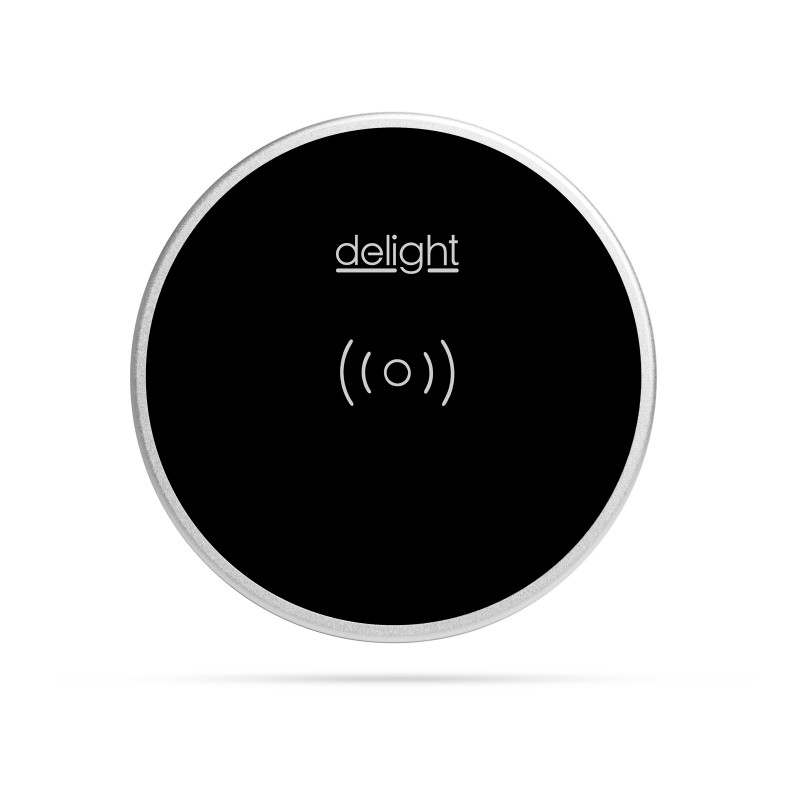 Statie incarcare incorporabila Delight, 10 W, USB-A, 120 cm, Negru 2021 shopu.ro