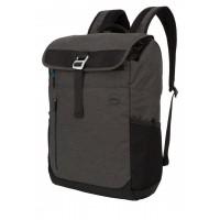 Rucsac laptop Dell Venture, 15.6 inch, elemente reflectorizante, suport sticla apa, buzunar portofel, plush, Gri